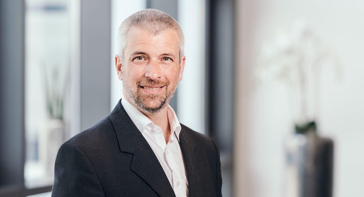 Dr. Holger Hackstein, Chief Digital Officer of Schenck Process