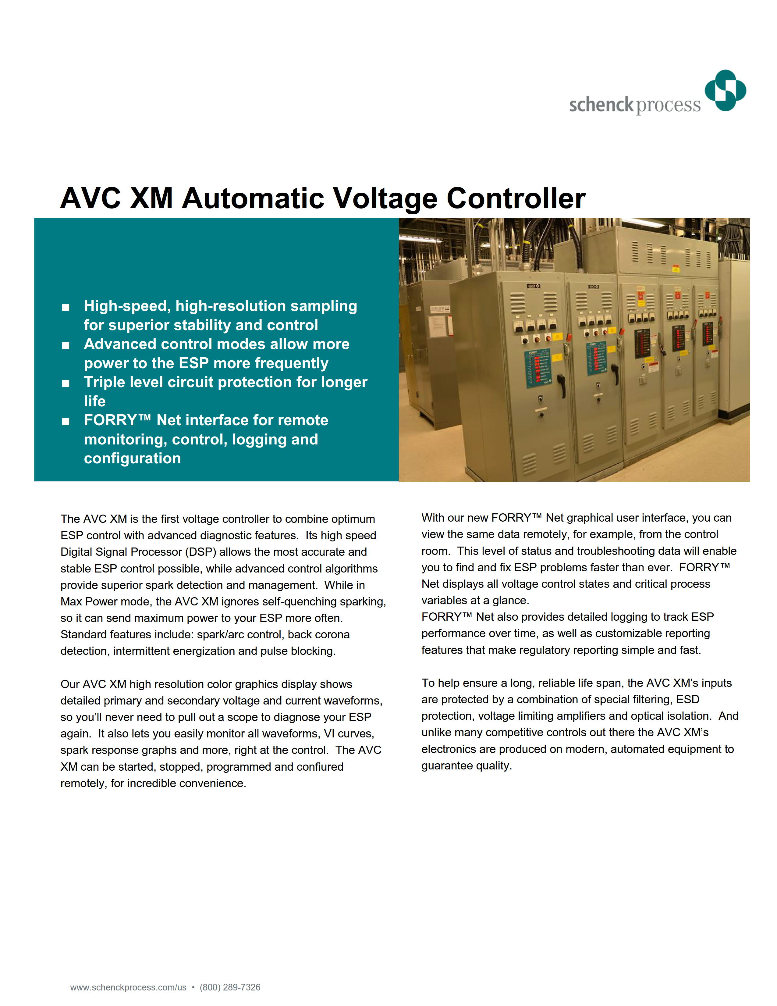 AVC XM Automatic Voltage Controller