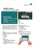 CONiQ® Control - Application for static scales