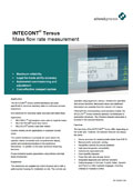 INTECONT® Tersus - Mass flow rate measurement