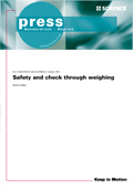 Safety and check through weighing