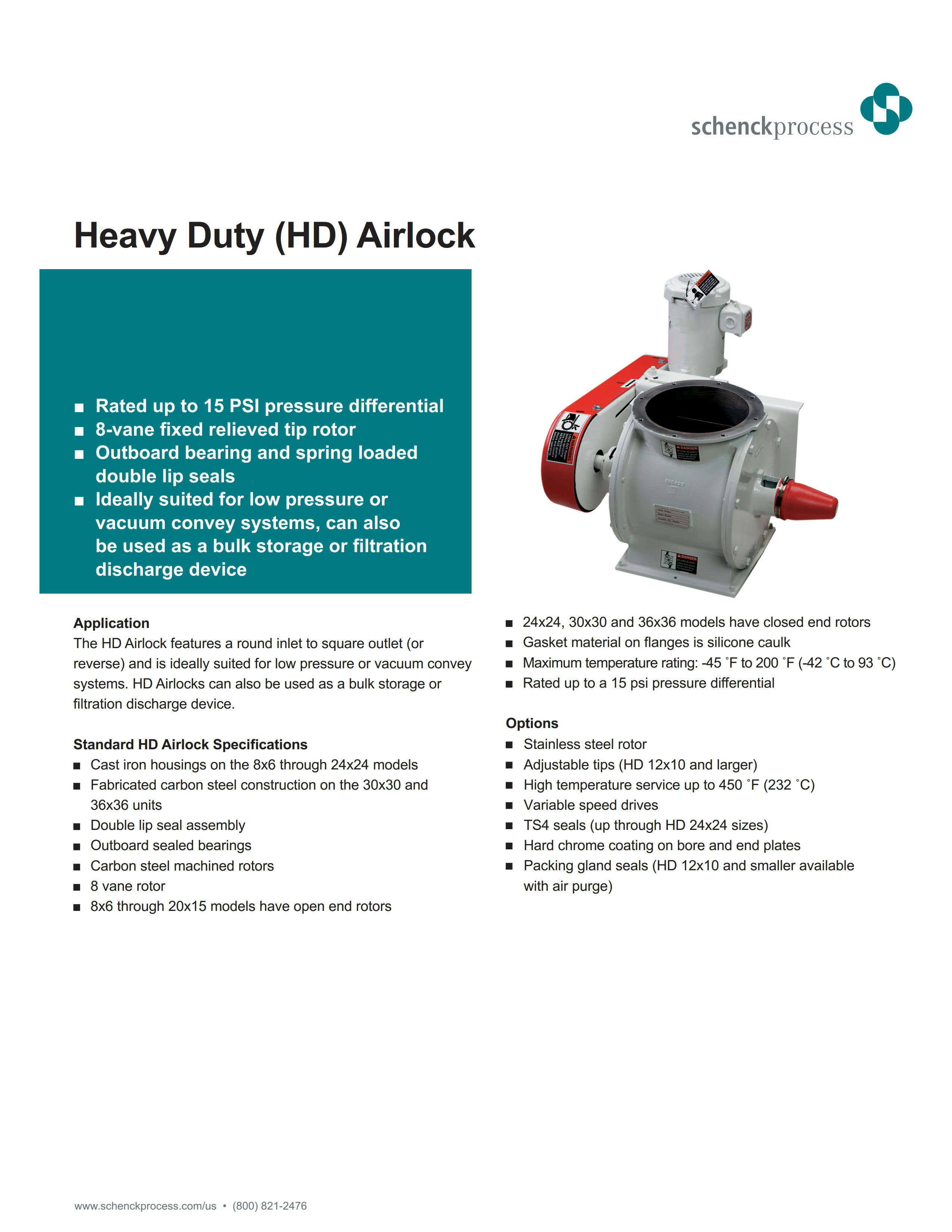 Heavy Duty (HD) Airlock