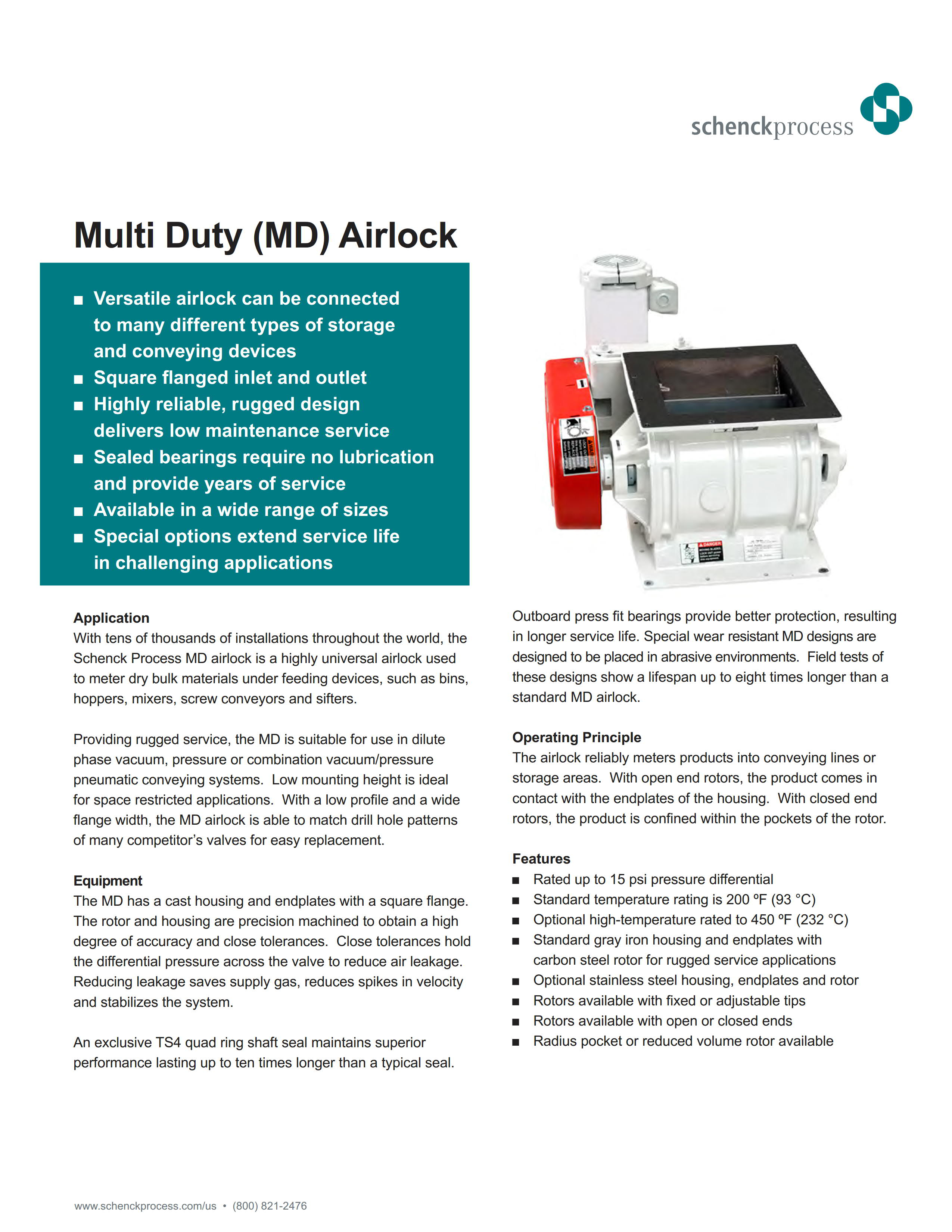 Multi Duty (MD) Airlock
