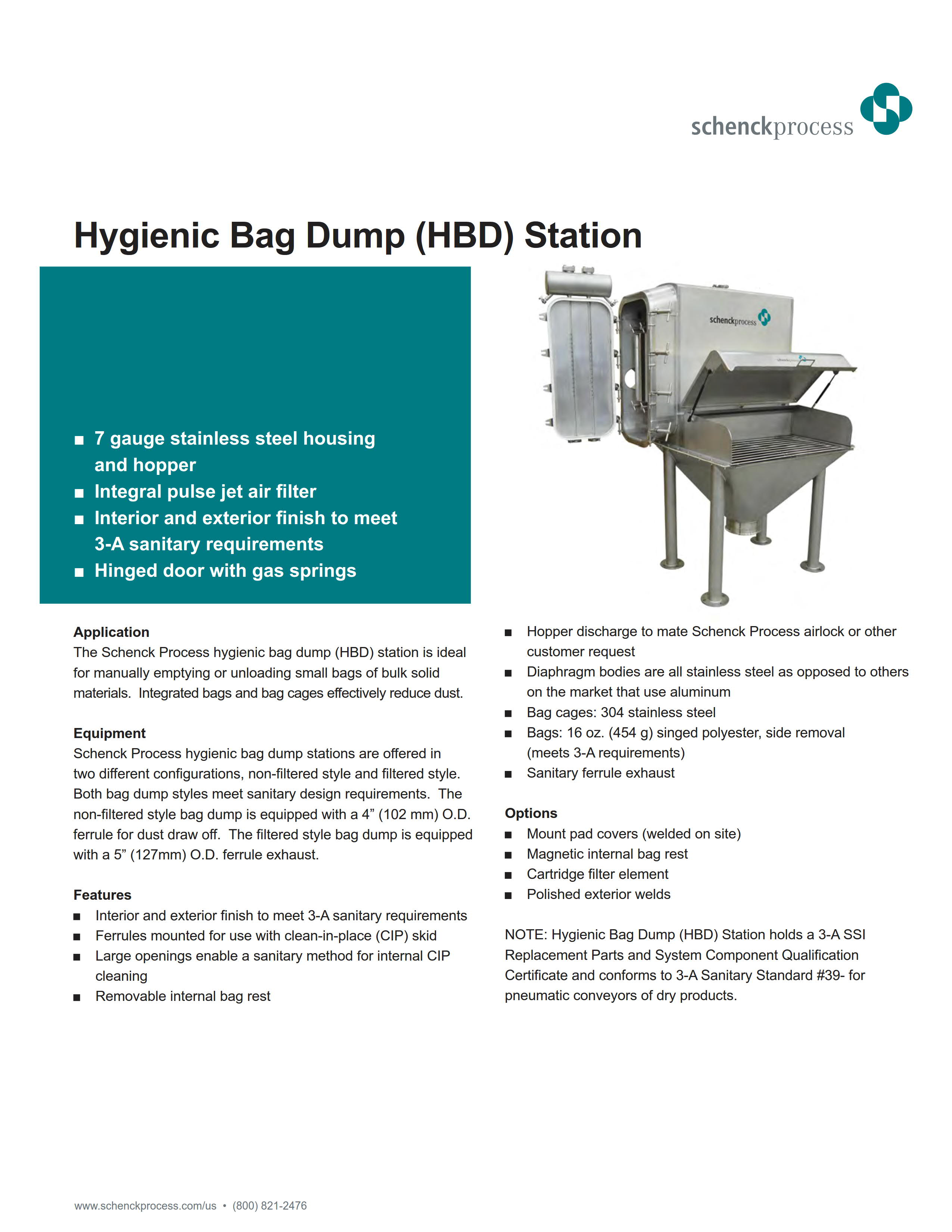 Hygienic Bag Dump (HBD) Station