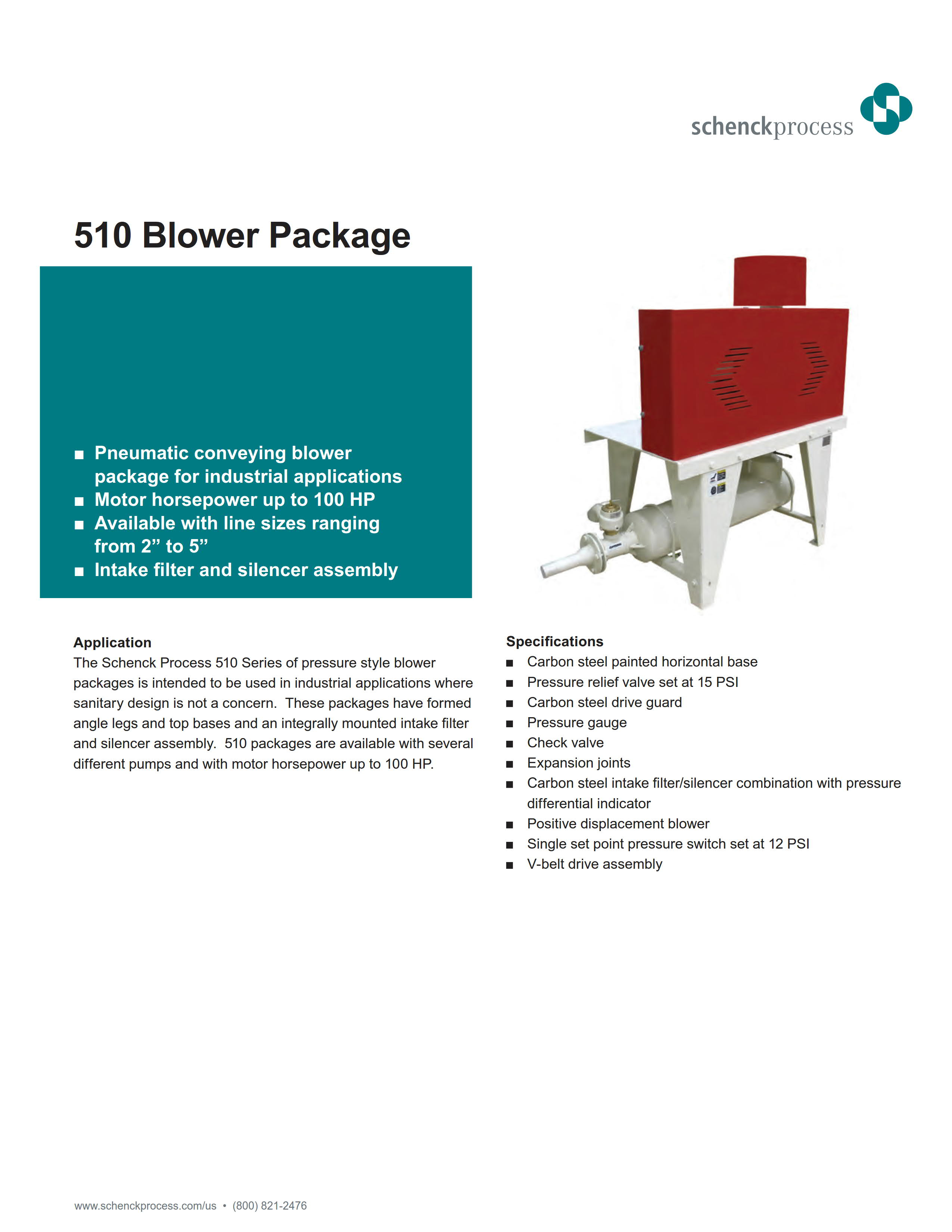 510 Blower Package