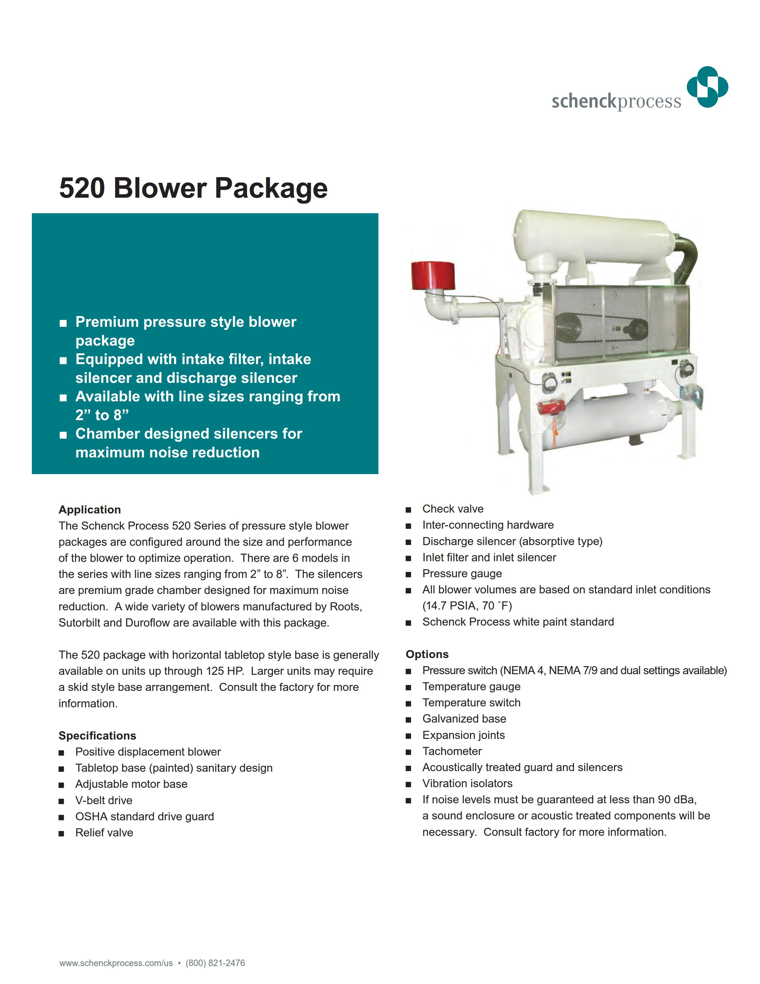 520 Blower Package