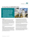 Air Vent Round (AVR/AVRC) Filter