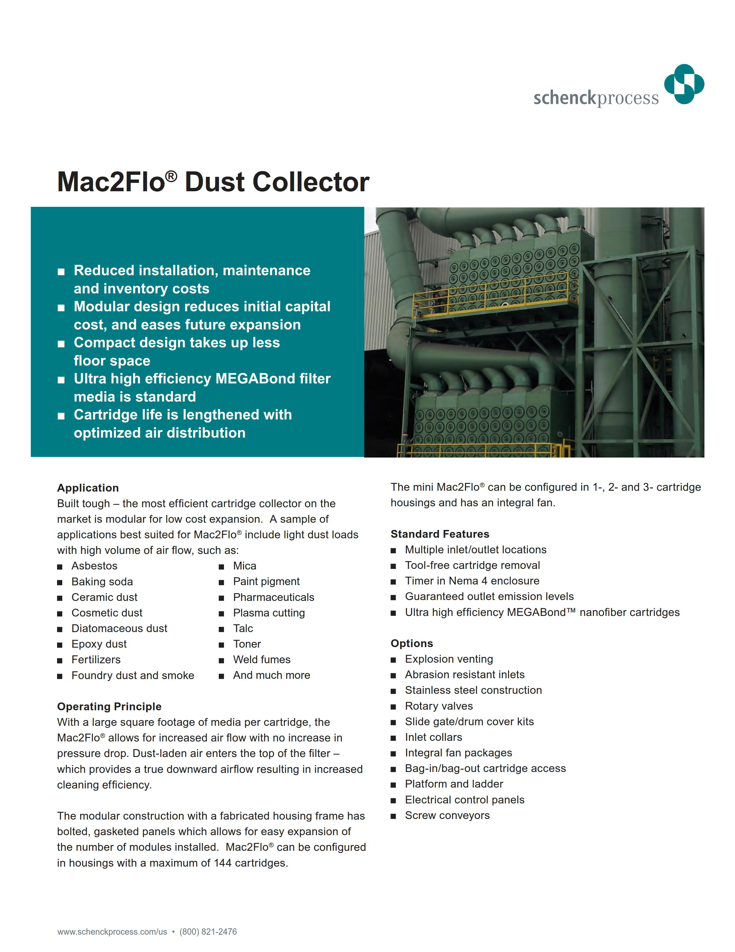 Mac2Flo Dust Collector