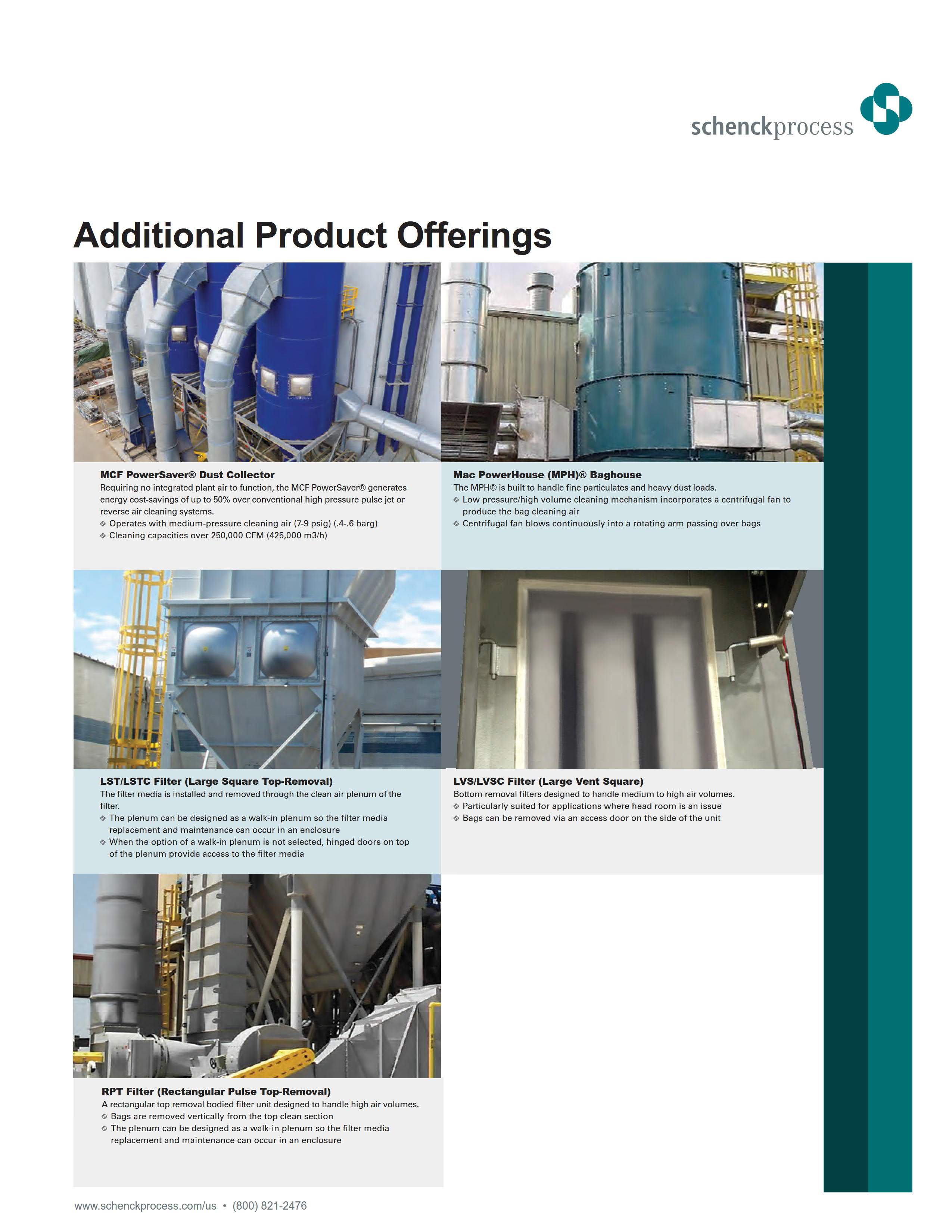 Additional Product Offerings - Filtration