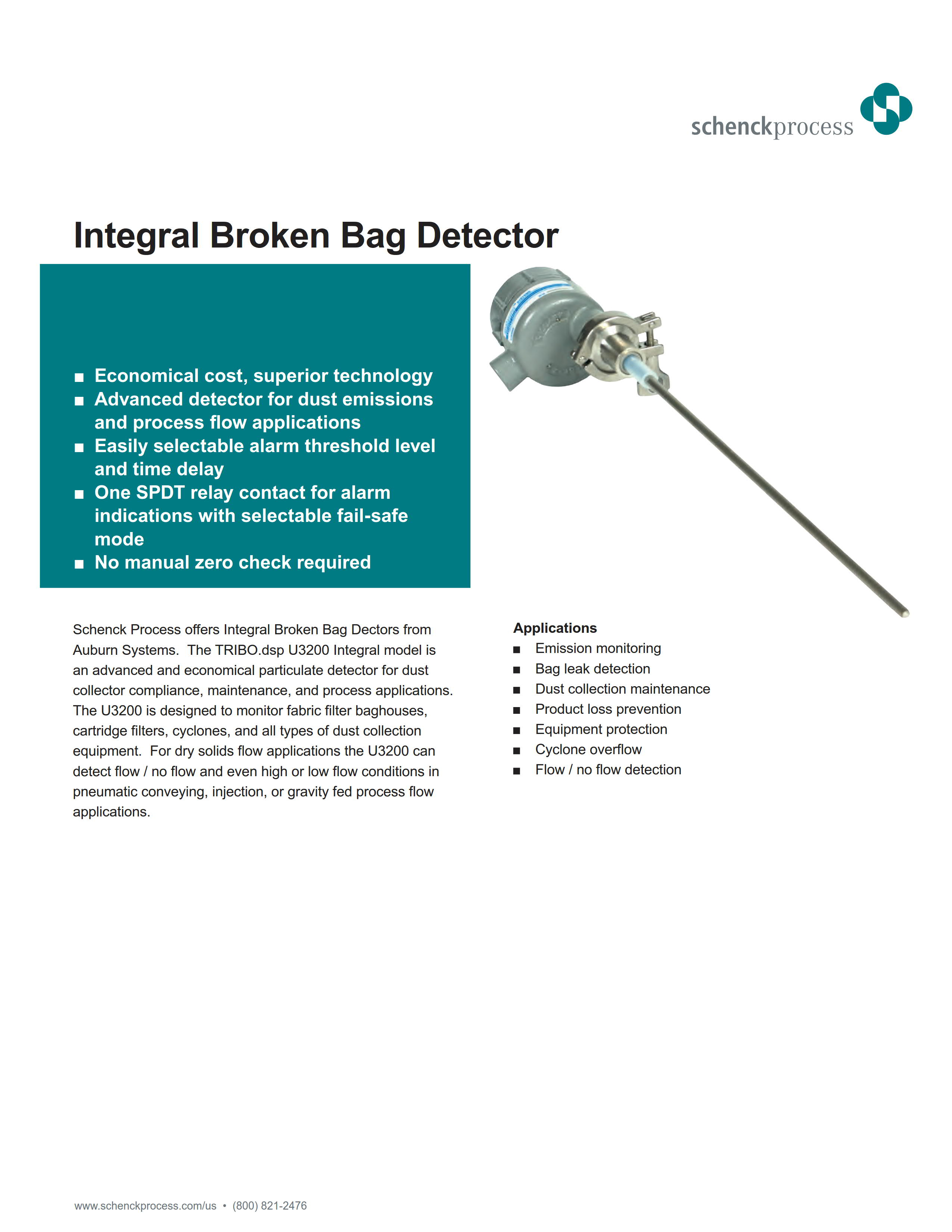 Integral Broken Bag Detector