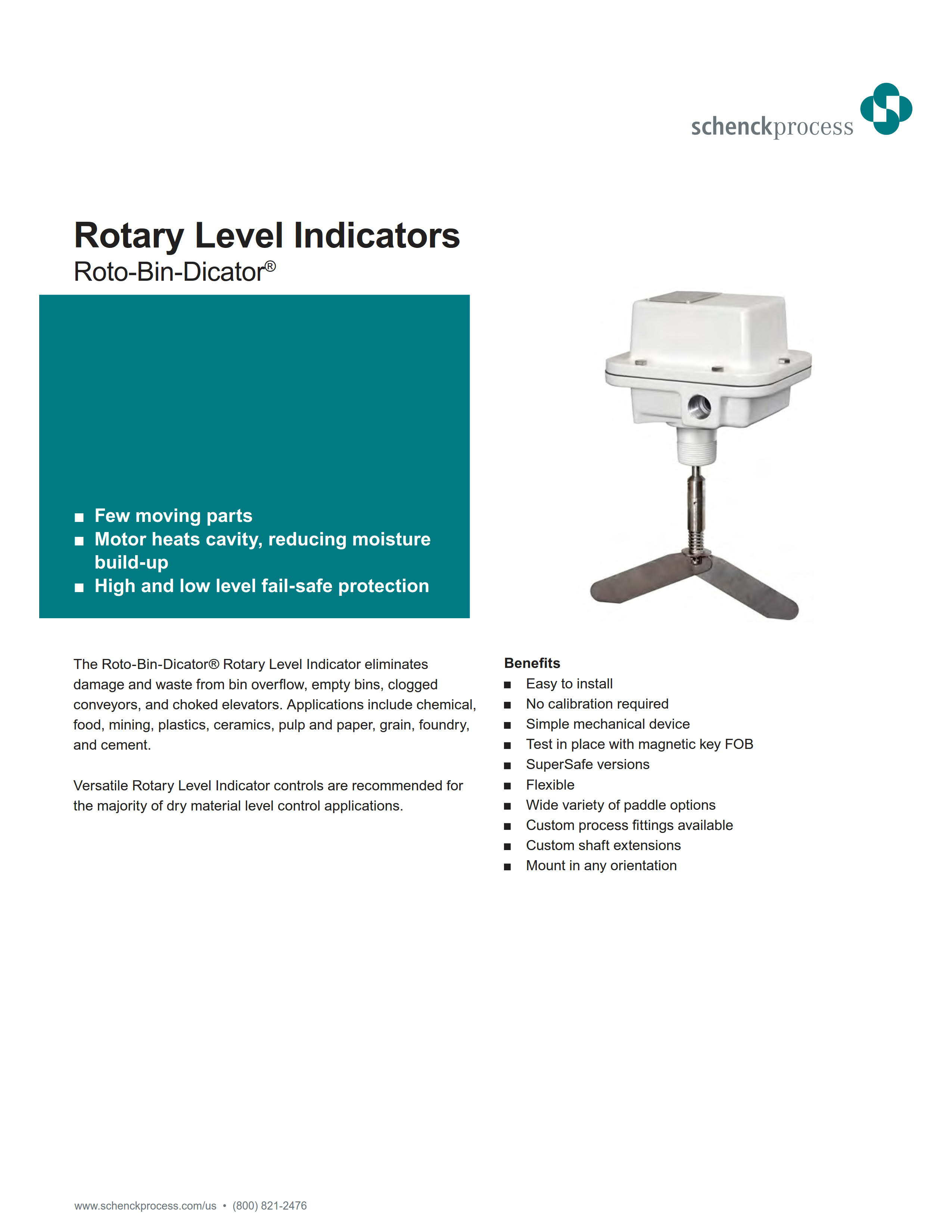 Rotary Level Indicators