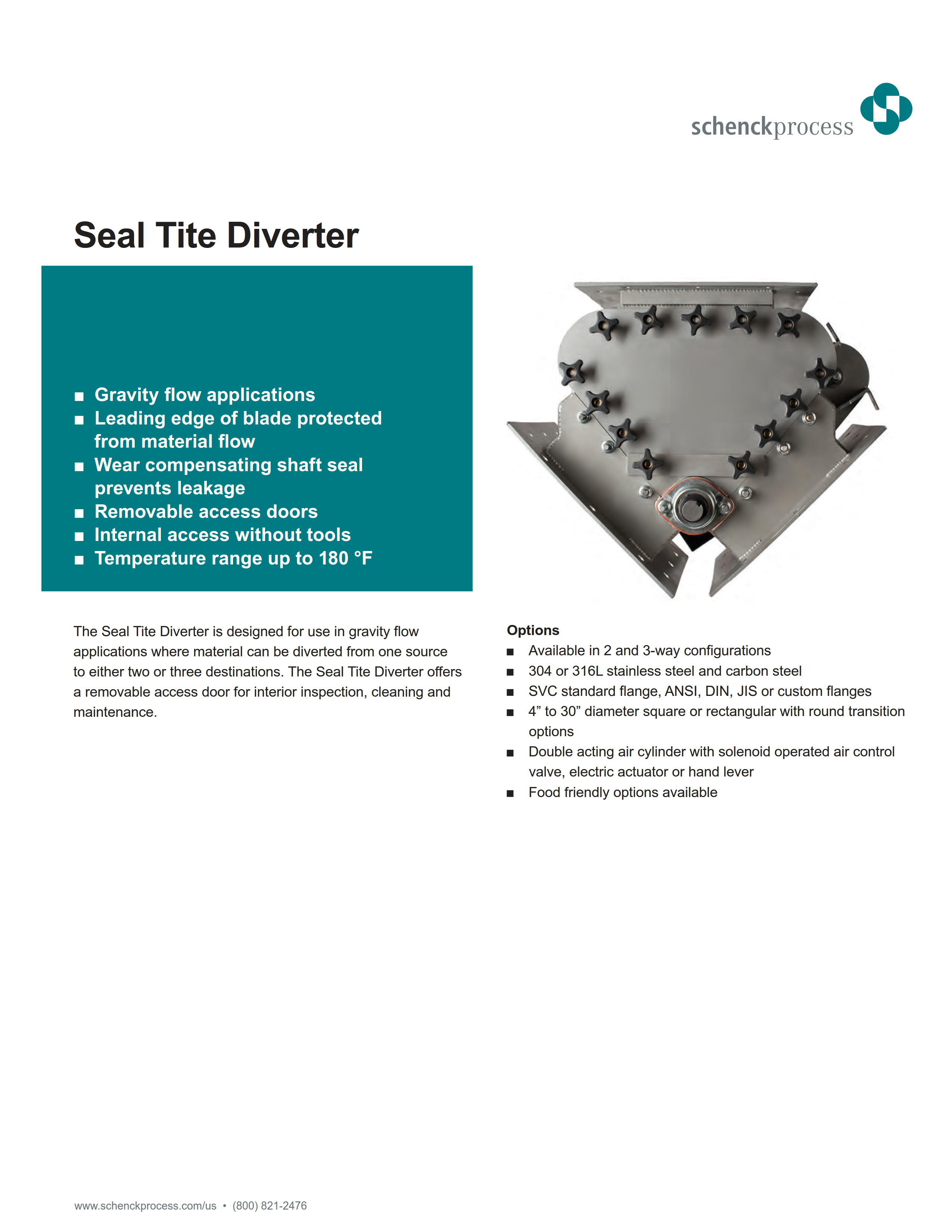 Seal Tite Diverter