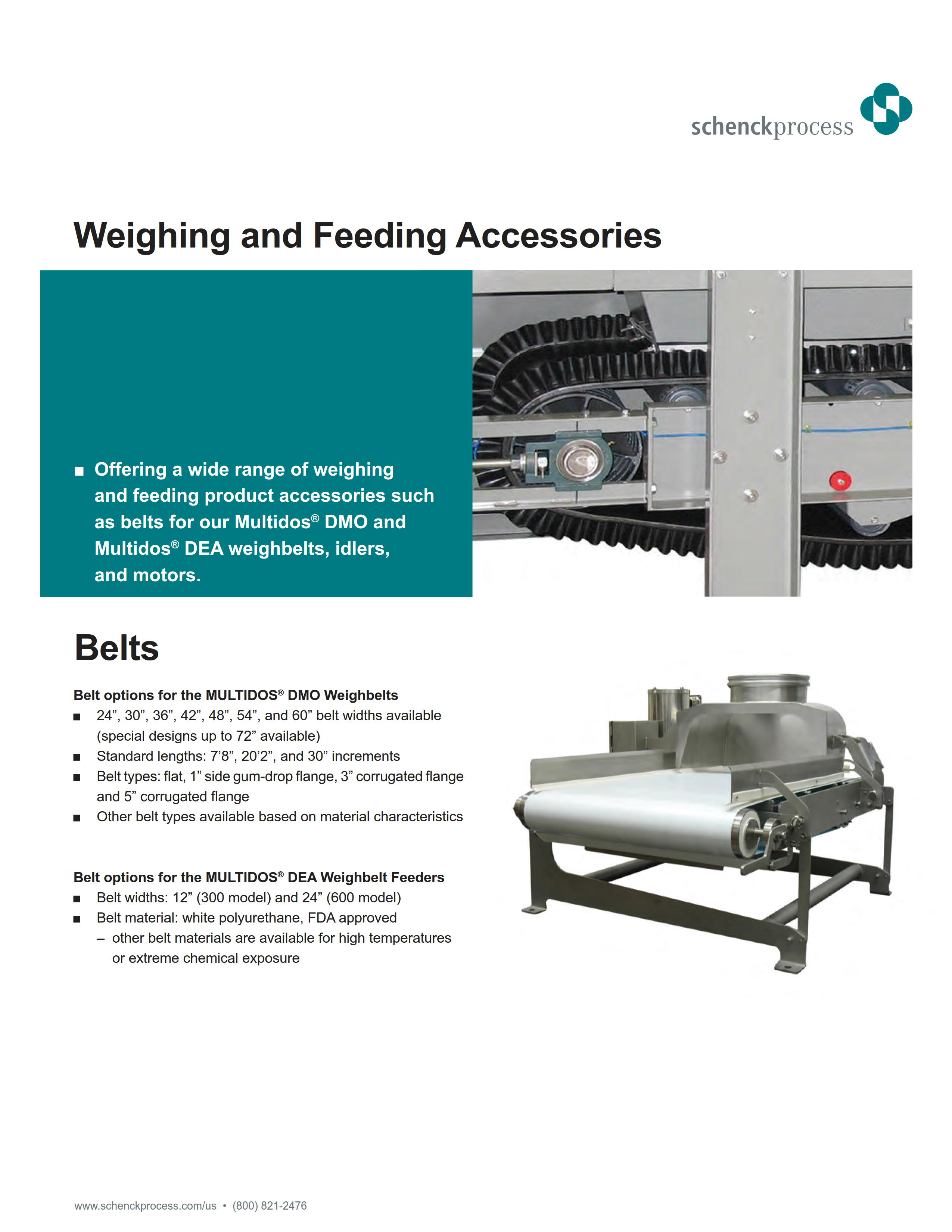 Weighing and Feeding Accessories