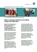 Bakery Ingredient Quality Control Made Simple with Kemutec KEK Sifter