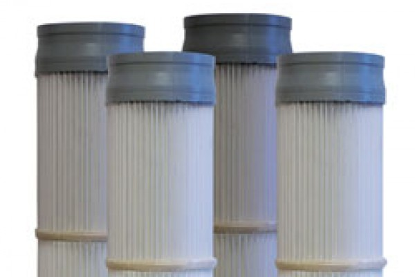 Polipleet pleated cartridge filter media