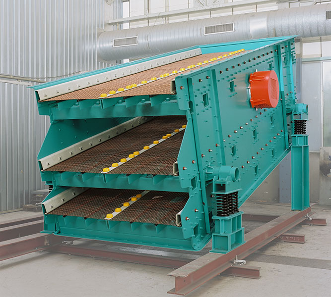RotaClass® SKS - Circular vibrating screen - Schenck Process