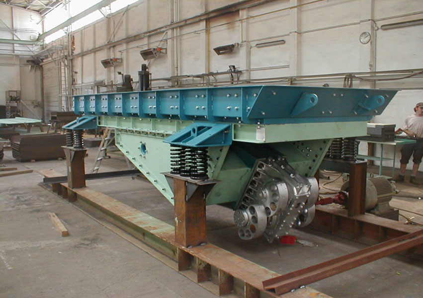 fabo bunker machines feeder grizzly grid crusher feeding company feeders vibrating