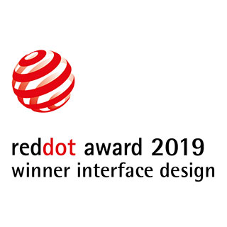 reddot award 2019 - winner interface design