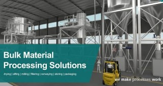 Bulk Material Handling Solutions for Food and Dairy Applications