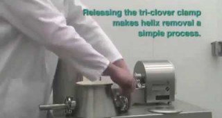 » Video: Easy disassembly of PureFeed® AP-300 pharmaceutical feeder
